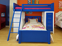 Kids Cottage Loftbeds